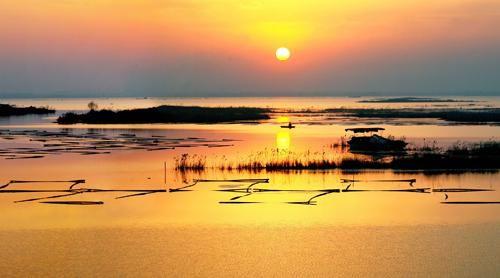 傅明先在微山县调研:保护南四湖一泓清水