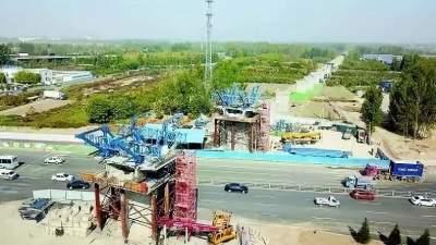 最新進展 | 高鐵開進沂蒙山,魯南高鐵曲菏段建設快速有序推進