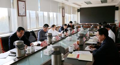 市人大常委会党组开展主题教育专题交流研讨