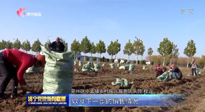 兖州小孟乡村振兴服务队:发挥职能优势 助力乡村振兴