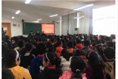 济宁交警走进校园开展交通安全宣传网上投注彩票APP