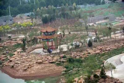 鱼台棠邑公园预计2020年1月1日正式开园