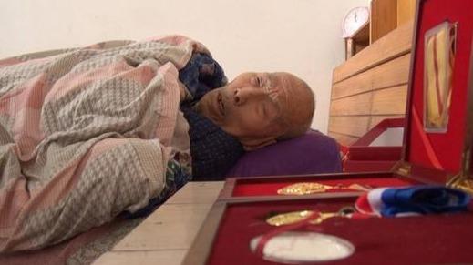 百岁抗战老兵孙晋良 山东唯一健在南京大屠杀亲历者