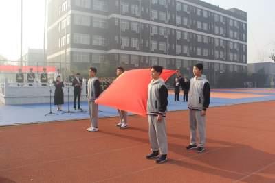 """北大培文济宁二中举行纪念""""一二·九运动""""84周年主题教育活动"""