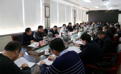 市人大常委會召開市十七屆人大五次會議籌備工作動員會議
