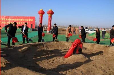 汶上县2019年冲刺四季度新旧动能转换重大项目建设开工