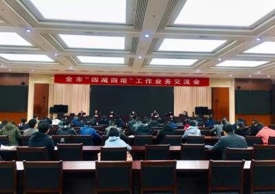 """必威betway市召開""""四減四增""""工作業務交流會"""