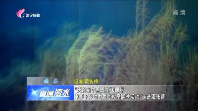 """泗水:""""庆祝新中国成立70周年 电影下乡助力脱贫攻坚展映活动""""走进泗张镇"""