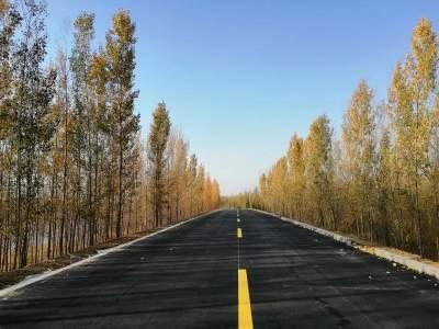 环湖大道东线工程微山段全线贯通 有望年底全线通车