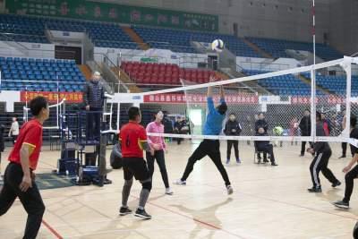 2019年微山县第九届全民健身运动会气排球比赛完美收官