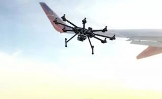 乘客拍到无人机撞碎大客机侧翼?虚惊一场