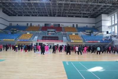 六藝太極拳社會體育指導員培訓班在嘉祥體育館舉行