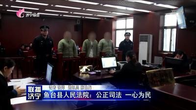鱼台县人民法院:公正司法 一心为民