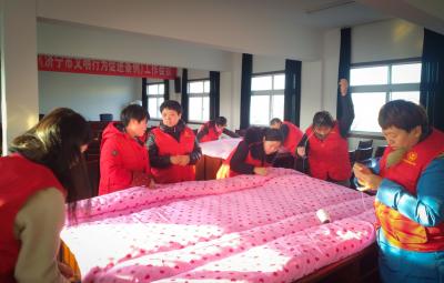 寒冬送温情 济宁市农科院义工团慰问贫困家庭