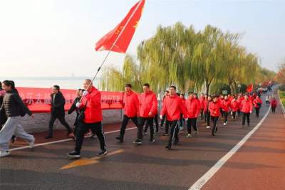 2019年太白湖新区职工健步走活动成功举办