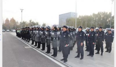 鱼台县公安局举行110接处警改革启动仪式