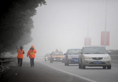 受大雾影响 济宁汽车总站发往菏泽等地部分车次停班