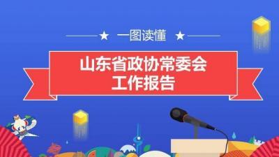 报告上的二维码丨一图读懂山东省政协常委会工作报告