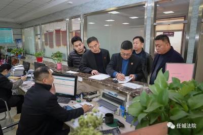 任城法院春节前集中发放农民工工资689万元