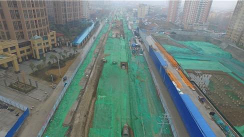 济宁车站西路综合管廊工程主体结构已完工 预计今年年底通车