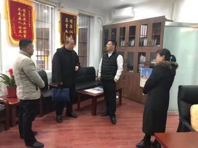 济宁市退役军人事务局指导检查组一行到微山检查指导工作