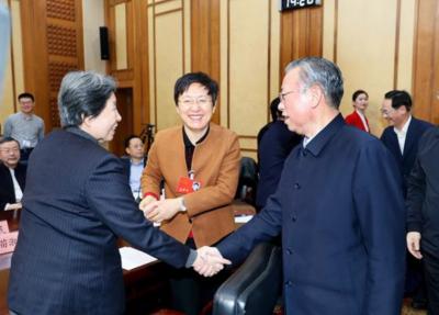 省领导同党外人士共迎新春
