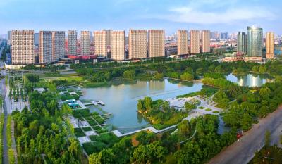 """擦亮济宁生态""""名片"""" 让城市绿意尽显、水绿交融"""