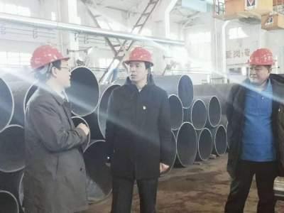 张作昌带领机关第一党支部到联系企业走访调研