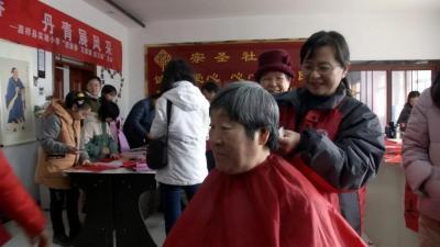 嘉祥开展志愿服务系列活动 喜迎新春佳节