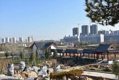 鱼台县棠邑公园正式开园迎客!