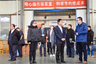 济宁高新区民营企业服务队新年走访慰问包保企业