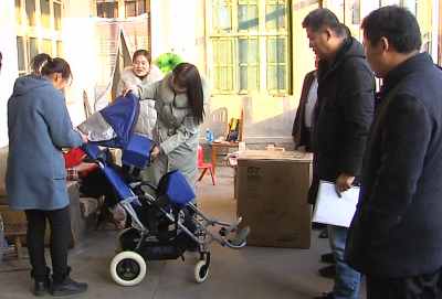新春走基层|金乡县开展送温暖活动 关爱残疾儿童健康成长