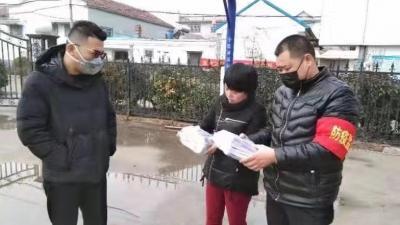 最暖心的年货!济宁爱心村民自购1万只口罩送乡亲