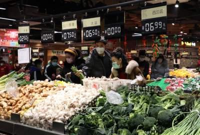 商務部:80%大型農產品批發市場開門營業