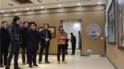 断面景观2019至2020山东青年油画展(济宁站)巡展开幕