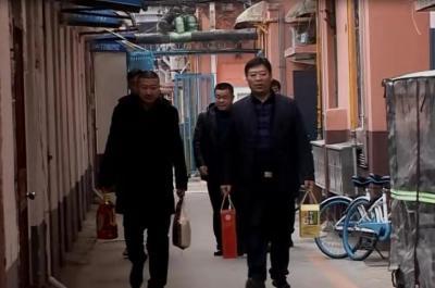 任城区仙营街道开展春节走访慰问