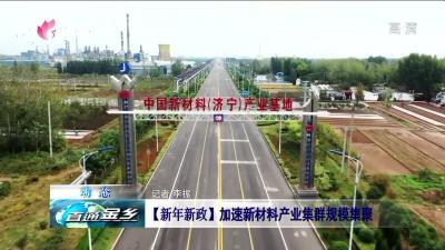 金乡:【新年新政】加速新材料产业集群规模集聚