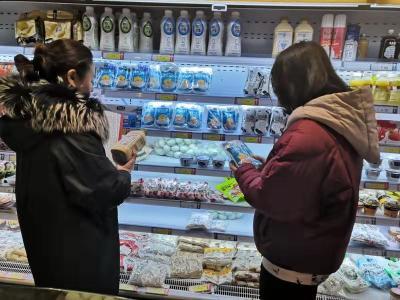 古槐街道大石桥社区:新春佳节 食安护万家