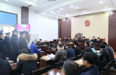 梁山13人恶势力犯罪案宣判 主犯被判刑14年处罚金31万
