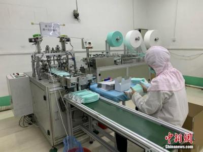 中国口罩最大日产能2000多万只 发力破解脱销困境