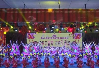 梁山县首届中老年电视春晚录制完成