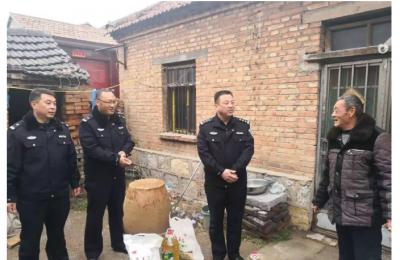 """鱼台公安掀起""""百万警进千万家""""活动热潮"""