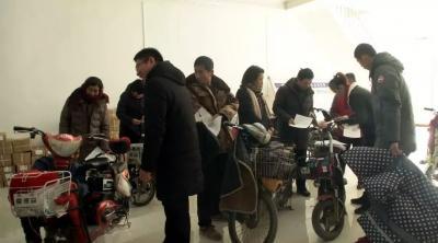嘉祥县掀起电动车挂牌热潮 三万余辆电动自行车成功上牌