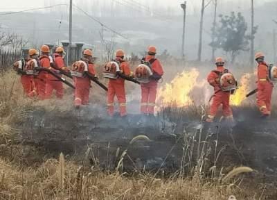 邹城开展防火能力大比武  做好节日安全保障
