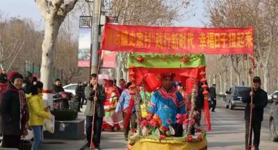 """兖州区颜店镇开展新时代文明实践""""文化惠民""""活动"""
