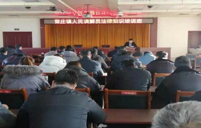 微山县留庄镇举办人民调解员法律知识培训班