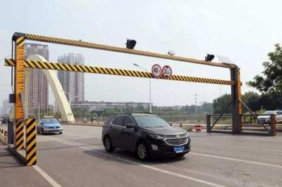 23日起曲阜又启用一处限高架 2.6米及以上车辆无法通行