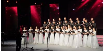 济宁教育新春音乐会奏响动人乐章