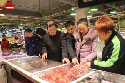 任城区开展春节期间清真食品安全联合检查