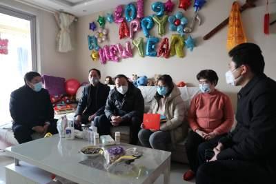 太白湖新區領導帶隊慰問區支援湖北醫療隊家屬